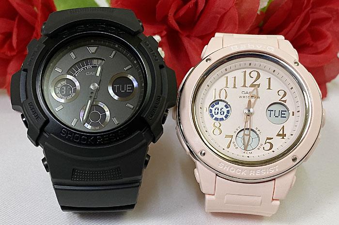 腕時計, ペアウォッチ G G-SHOCK BABY-G 2 g g AW-591BB-1AJF BGA-150EF-4BJF g-shock