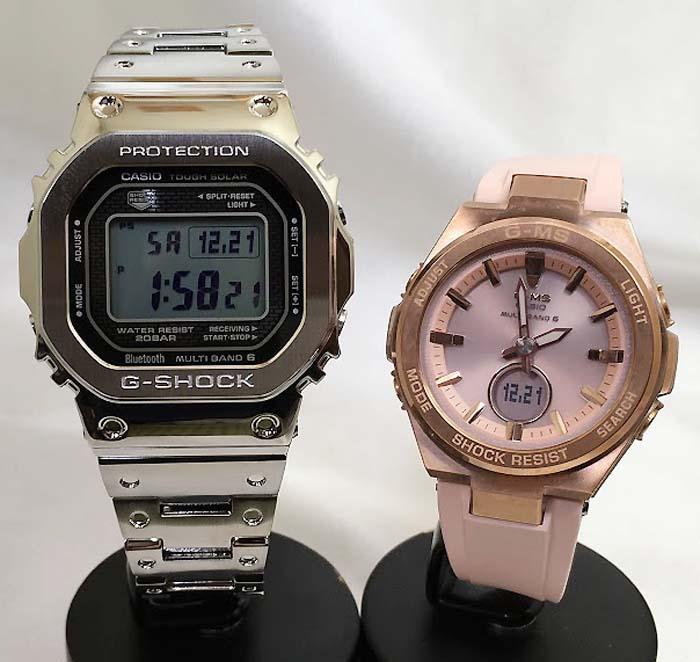 腕時計, ペアウォッチ G G-SHOCK BABY-G 2 g GMW-B5000D-1JF MSG-W200G-4AJF