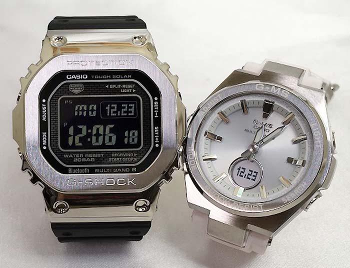 腕時計, ペアウォッチ G G-SHOCK BABY-G 2 g g GMW-B5000-1JF MSG-W200-7AJF G-SHOCK