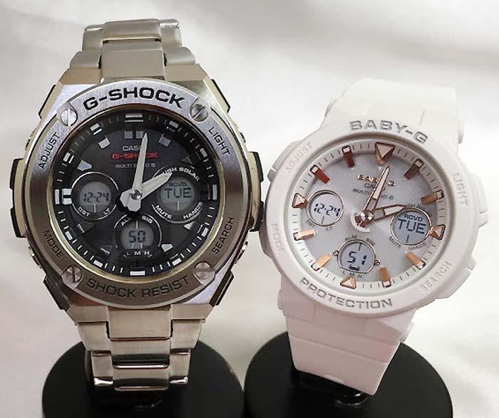 腕時計, ペアウォッチ G G-SHOCK BABY-G 2 g g GST-W310D-1AJF BGA-2500-7AJF