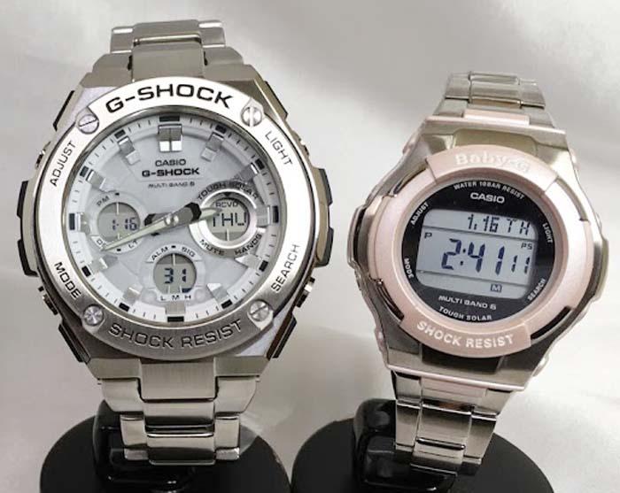 腕時計, ペアウォッチ G G-SHOCK BABY-G G 2 g g GST-W110D-7AJF BGD-1300D-4JF