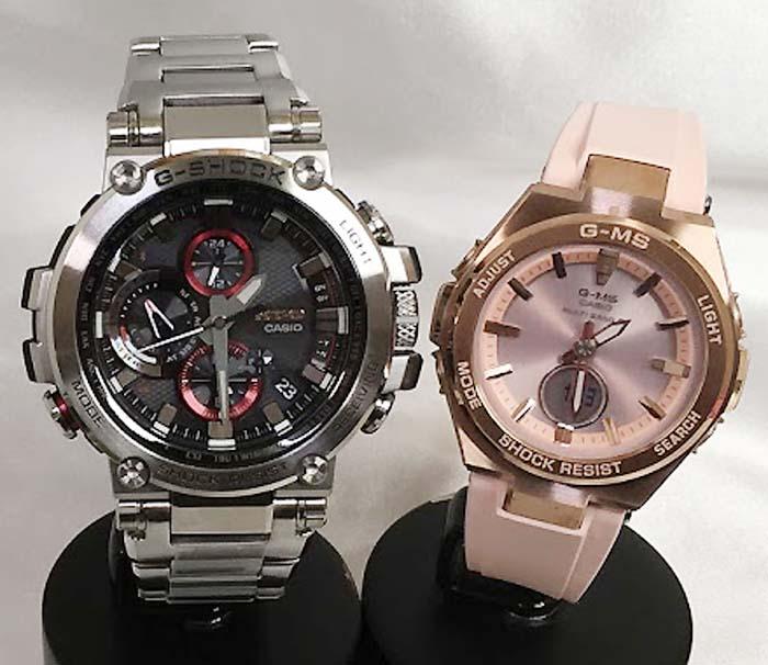 腕時計, ペアウォッチ G G-SHOCK BABY-G 2 g MTG-B1000D-1AJF MSG-W200G-4AJF