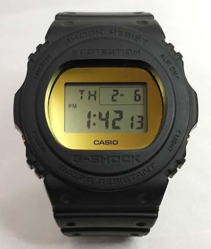 国内正規品 新品 Gショック G-SHOCK カシオ gショック DW-5700BBMB-1JF 腕時計 ギフト 人気 ラッピング無料 g-shock メタリックミラーフェイス
