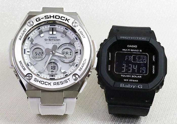 腕時計, ペアウォッチ G G-SHOCK BABY-G 2 g g GST-W310-7AJF BGD-5000MD-1JF