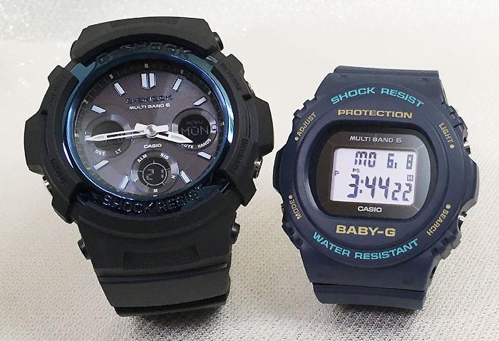 腕時計, ペアウォッチ G G-SHOCK BABY-G 2 g g AWG-M100A-1AJF BGD-5700-2JF