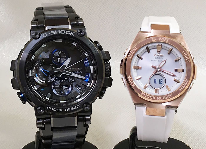 腕時計, ペアウォッチ G G-SHOCK BABY-G 2 g g MTG-B1000BD-1AJF MSG-W200G-7AJF