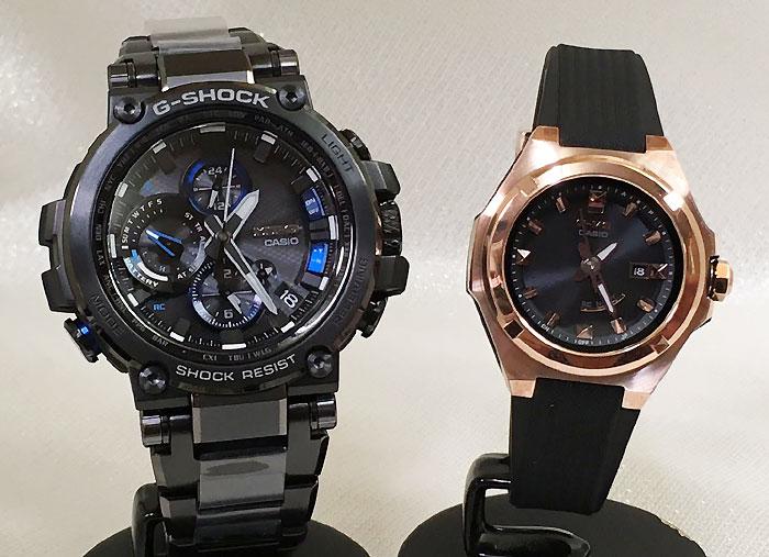 腕時計, ペアウォッチ G G-SHOCK BABY-G 2 g g MTG-B1000BD-1AJF MSG-W300G-1AJF