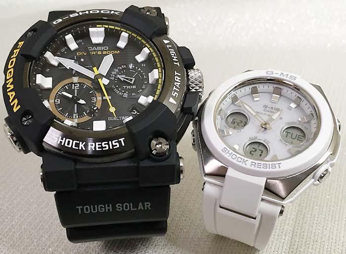 腕時計, ペアウォッチ G G-SHOCK BABY- 2 g g GWF-A1000-1AJF MSG-W100-7AJF
