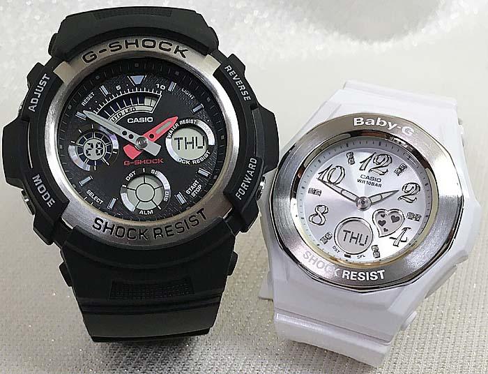 腕時計, ペアウォッチ G G-SHOCK BABY-G 2 g g AW-590-1AJF BGA-100-7B3JF g-shock