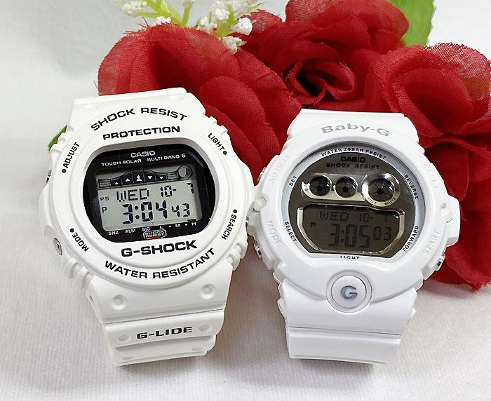 腕時計, ペアウォッチ G G-SHOCK BABY-G 2 g g GW-GWX-5700CS-7JF BG-6900-7JF