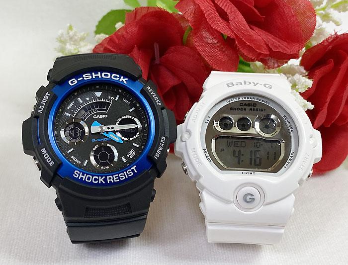 腕時計, ペアウォッチ G G-SHOCK BABY-G 2 g g AW-591-2AJF BG-6900-7JF