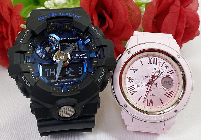 腕時計, ペアウォッチ G G G-SHOCK BABY-G 2 g g GA-710-1A2JF BGA-150ST-4AJF g-shock
