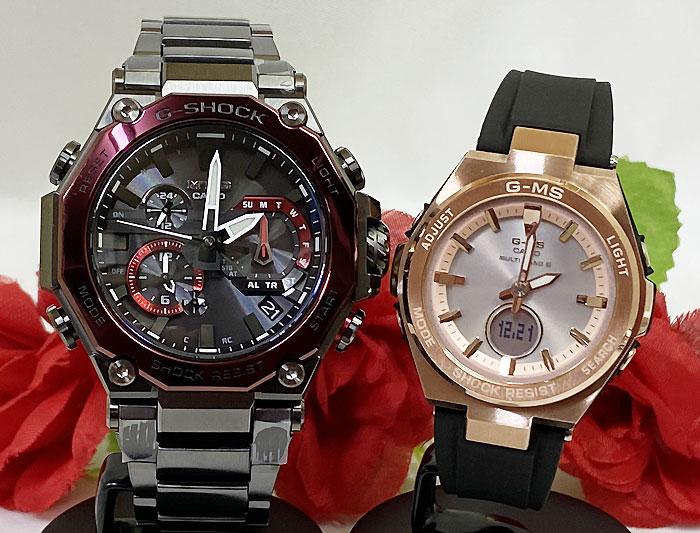 腕時計, ペアウォッチ G G-SHOCK BABY-G 2 g MTGB2000BD-1A4JF MSG-W200G-1A1JF