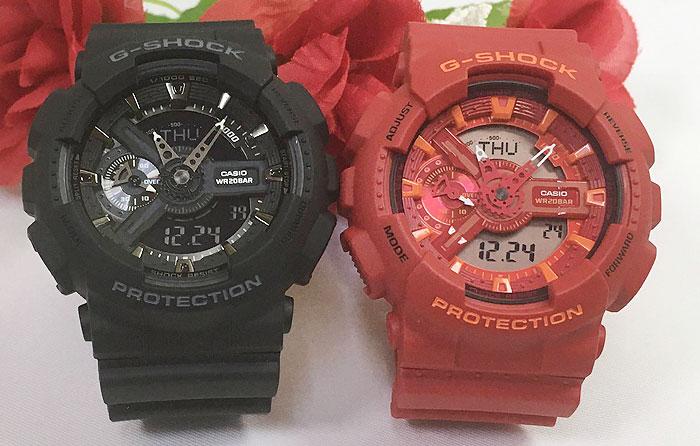 腕時計, ペアウォッチ G G-SHOCK 2 g GA-110-1BJF GA-110AC-4AJF