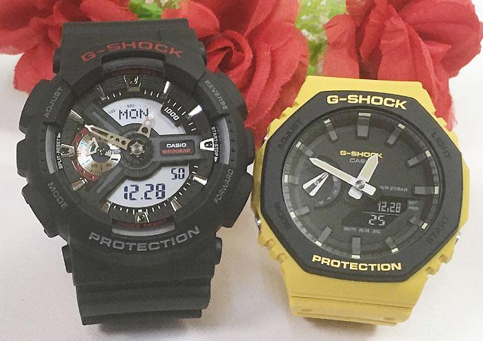 腕時計, ペアウォッチ G G-SHOCK 2 g GA-110-1AJF GA-2110SU-9AJF