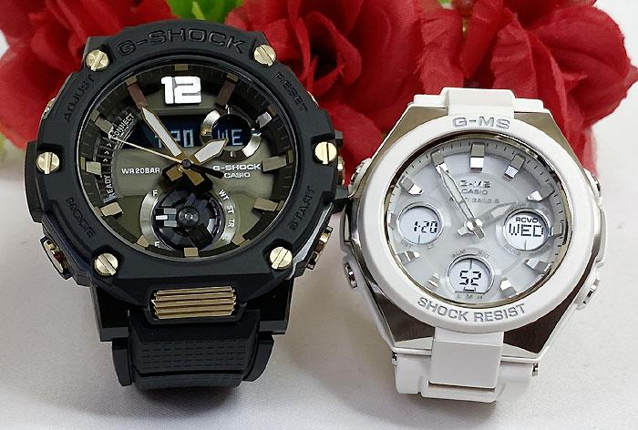 腕時計, ペアウォッチ G G-SHOCK BABY-G 2 g GST-B300B-1AJF MSG-W100-7AJF