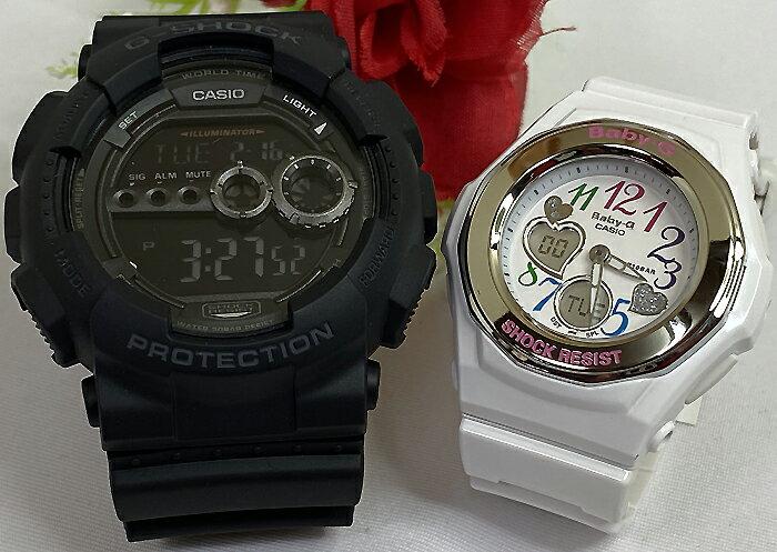 腕時計, ペアウォッチ G G-SHOCK BABY-G 2 g g GD-100-1BJF BGA-101-7B2JF