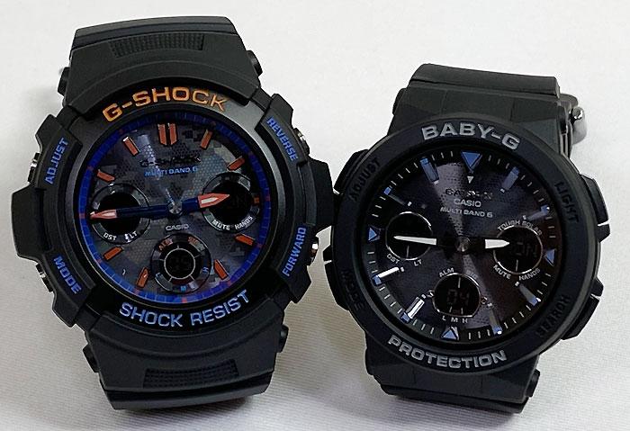 腕時計, ペアウォッチ G G-SHOCK BABY-G 2 g AWG-M100SCT-1AJF BGA-2500-1AJF