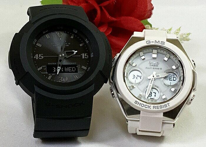 腕時計, ペアウォッチ G G-SHOCK BABY-G 2 g AWG-M520BB-1AJF MSG-W100-7AJF