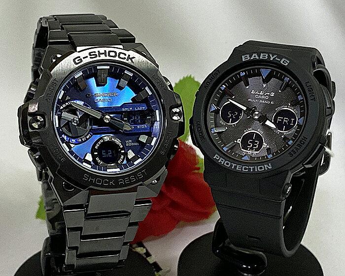 腕時計, ペアウォッチ G G-SHOCK BABY-G 2 g GST-B400BD-1A2JF BGA-2500-1AJF 30 40 50