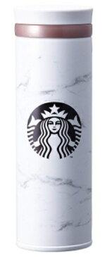 ★無料配送★海外限定 スタバ マーブルホワイト タンブラー 保温保冷ボトル Starbucks JNO Marble white thermos 500ml [並行輸入品] (Marble)