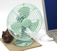 ★3000円以上で送料無料★夏の暑さは省エネなUSBでも電池でも動く扇風機で解決しよう! USB レ...