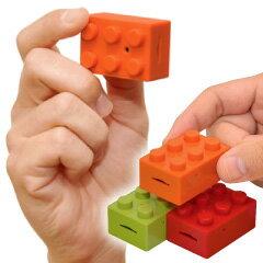★送料無料★みんな遊んだおもちゃ(レゴブロックでは有りません) CHOBi CAM BLOCK オレンジ...