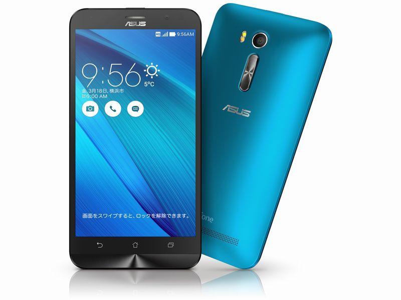 ブルー/エイスース/ZenFone Go/SIMフリー【展示品】ZenFone Go ZB551KL-BL16 (ブルー)SIMフリ...