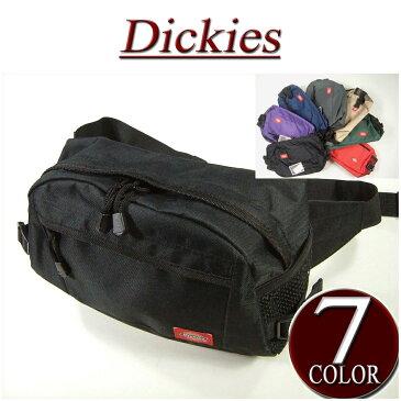 【当店別注モデル 全7色】 is941 新品 Dickies ディッキーズ 無地 ウエストバッグ メンズ ボディバッグ バッグ バック ウエストバック 【smtb-kd】