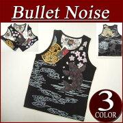 プリント Tシャツ BulletNoise
