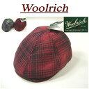 【2色4サイズ】 aw961 新品 WOOLRICH オンブレチェック ウール混 ハンチングキャップ W9400 メンズ キャスケット ウールリッチ Wool Rich