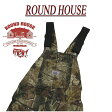 af122 新品 ROUND HOUSE 定番 USA製 REALTREE AP HD CAMO OVERALLS リアル...