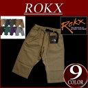 楽天【9色5サイズ】 rx251 新品 ROKX CROPS ロックス 七分丈 クロップド クライミングパンツ RXM006 メンズ & レディース アメカジ チノパンツ アウトドア ショートパンツ ショーツ