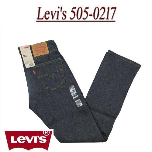 ae04 新品 Levi's USライン リーバイス505 ノンウォッシュ ストレート 生デニムジー...
