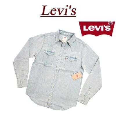 リーバイスのデニムウエスタンシャツ