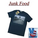 【US規格 5サイズ】 ab081 新品 JUNK FOOD USA産 AT-AT スノーウォーカー 半袖 Tシャツ メンズ S2230-7730 ジャンクフード STAR WARS スターウォーズ ティーシャツ JunkFood MADE IN USA