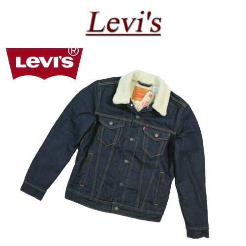 af251 新品 Levis USライン サードタイプ 裏パイルボア デニムジャケット G...