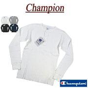 ヘンリー サーマル チャンピオン Tシャツ ワッフル ロンティー