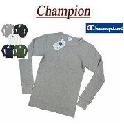 サーマル チャンピオン Tシャツ ワッフル ロンティー