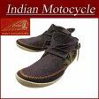 【2016秋冬モデル! 9サイズ】 fw721 新品 Indian Motocycle SURREY ファブリック×レザー ネイティブ柄 モカシン チャッカブーツ IND-11301 メンズ & レディース インディアンモトサイクル インディアンスニーカー IndianMotocycle