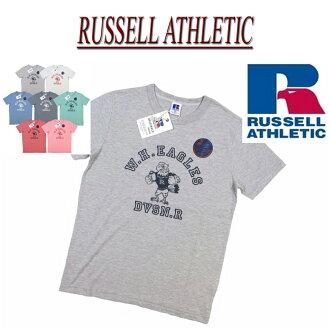 ny561 新品牌羅素競技 50/50 NUBLEND W.H.EAGLES 列印短袖 T 恤 RC1536C 男式羅素運動 t 恤休閒