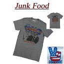 【US規格 5サイズ】 ab561 新品 JUNK FOOD THE WHO AMERICAN TOUR '82 ザ・フー 半袖 バンド Tシャツ WH080-7780 メンズ ジャンクフード ロック ティーシャツ JunkFood 【smtb-kd】