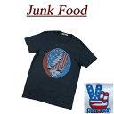 【US規格 5サイズ】 ab581 新品 JUNK FOOD USA産 GRATEFUL DEAD グレイトフルデッド 半袖 バンドTシャツ GD423-7730 メンズ ジャンクフード ロック ティーシャツ JunkFood MADE IN USA 【smtb-kd】