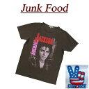 【US規格 4サイズ】 ab861 新品 JUNK FOOD USA産 MICHAEL JACKSON BAD TOUR88 マイケル・ジャクソン 半袖 バンド Tシャツ MJ002-8010 メンズ ジャンクフード ロック バッド ティーシャツ JunkFood Made in USA 【smtb-kd】