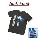 【US規格 4サイズ】 ab881 新品 JUNK FOOD USA産 MICHAEL JACKSON マイケル・ジャクソン 半袖 バンド Tシャツ MJ026-8010 メンズ ジャンクフード ロック ティーシャツ JunkFood Made in USA 【smtb-kd】