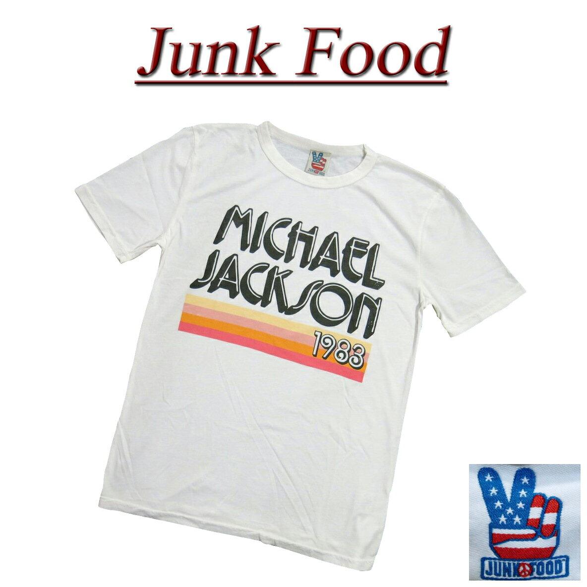 トップス, Tシャツ・カットソー  5 ac061 JUNK FOOD USA MICHAEL JACKSON T MJ006-7765 JunkFood MADE IN USA smtb-kd