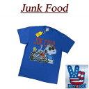 【US規格 5サイズ】 ac101 新品 JUNK FOOD SNOOPY JOE COOL スヌーピー ジョークール 半袖 Tシャツ P1417-8068 メンズ ジャンクフード ティーシャツ JunkFood 【smtb-kd】