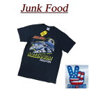 【US規格 5サイズ】 ac111 新品 JUNK FOOD STAR WARS MILLENNIUM FALCON スターウォーズ ミレニアム ファルコン 半袖 Tシャツ S3370-8068 メンズ ジャンクフード ティーシャツ JunkFood 【smtb-kd】