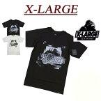 【2色4サイズ】 ac321 新品 X-LARGE DOUBLE VISION SS TEE OGロゴプリント 半袖 Tシャツ M17C1102 メンズ アメカジ エクストララージ ティーシャツ XLARGE