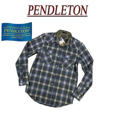 ペンドルトンのウールウエスタンシャツ